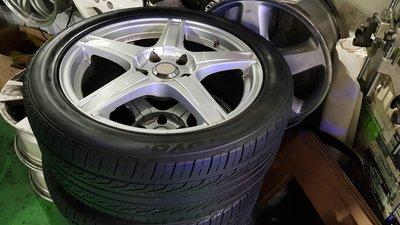 保證正品 ENKEI 17吋輕量化鋁圈 5x114.3 買鋁圈送輪胎 2800元