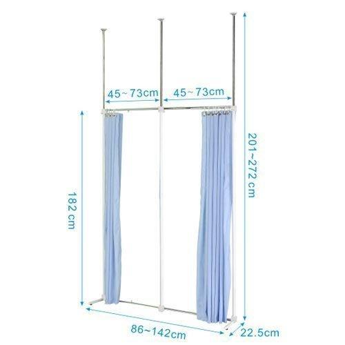 【中華批發網DIY家具】 S-17-01-一字延伸型伸縮防塵屏風(AH45*45)