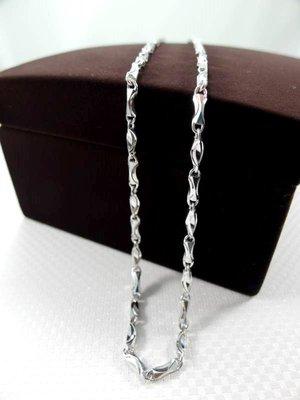 泰源銀樓【純銀925】元寶鍊/男性鎖鏈/項鍊 2尺 粗度約4MM 款