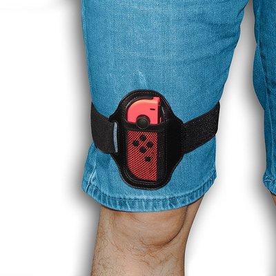 * 新款Switch Lite 腿帶Ring Fit Adventure 2個裝 可調節松緊運 動綁帶 腿部ζ時光錦バ