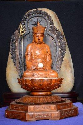 【準提坊】地藏王菩薩,總高度約50公分