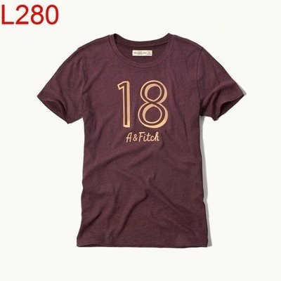 【西寧鹿】AF a&f Abercrombie & Fitch HCO 女 T-shirt 可面交 L280