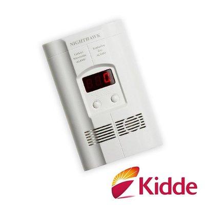 【煙霧警報器】特價-美國Kidde-瓦斯及一氧化碳二合一偵測警報器/插電式/內附9V電池(KN-COEG-3)防災