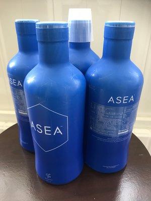 效期2022/01今天可以出貨 🔥四瓶 ASEA 信號分子水細胞水