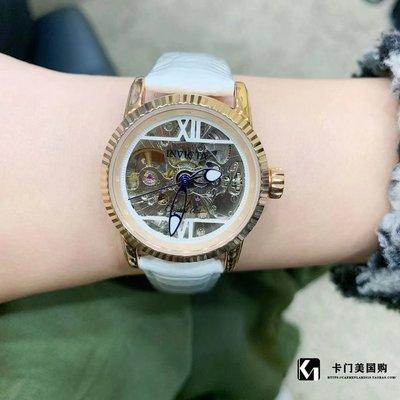手錶代購0306JI1卡門美國購invicta英維克塔藝術小藍針自動機械女錶32盤