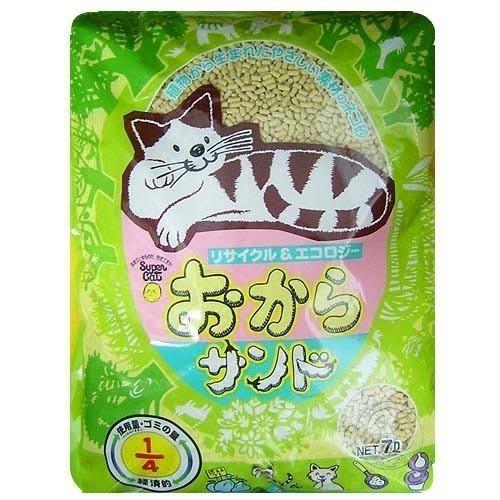 【??培菓寵物48H出貨??】韋民用量超省超經濟日本豆腐砂 7L 特價295元(蝦)