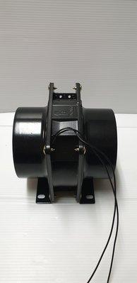 ╭☆優質五金☆╮4吋 鼓風機 模型噴漆專用~導風管中繼站專用~抽風機-抽風扇-排風扇-雙滾珠