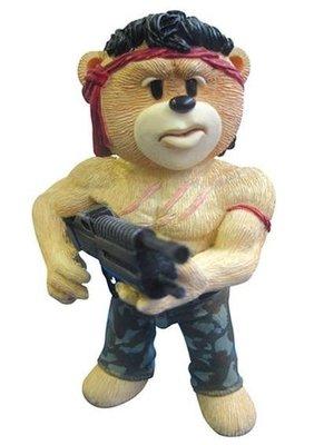 [狗肉貓]_Bad Taste Bears_壞壞熊_第一滴血_John Rambo_席維斯史特龍_藍波壞壞熊