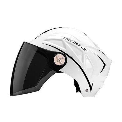 【可開發票】【極美家】Conscientious seller電動電瓶摩托車頭盔男女士夏季防曬輕便式防曬防紫外線安全帽