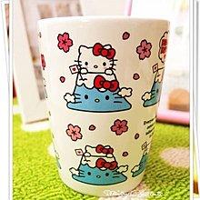 日本製 Hello Kitty x 富士山 櫻花版限定版陶瓷杯馬克杯咖啡杯 Starbucks Sanrio