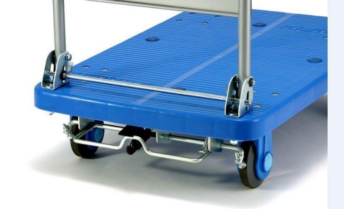 #8S 日本KANATSU超靜音手推車PLA300-DX-S帶煞車,91*60cm載重300公斤,4輪平板車拖車搬家送貨