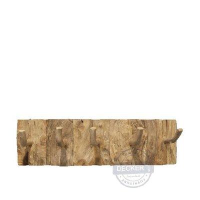 【Decker • 德克爾家飾】原生態系列傢飾 印尼柚木傢飾 實木空間生活 壁掛掛勾 阿尼托掛架 - 平邊