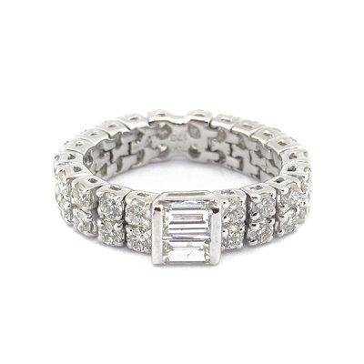 【JHT金宏總珠寶/GIA鑽石專賣】天然鑽石戒指軟尾戒/材質:18K(JB46-A36)