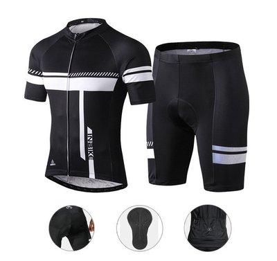 (免運)INBIKE 帕斯 車衣套裝 車衣車褲 短袖套裝 短袖車衣 自行車衣 單車車衣 短車衣