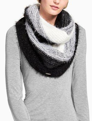 Calvin Klein CK OMBRE EYELASH INFINITY 圍巾