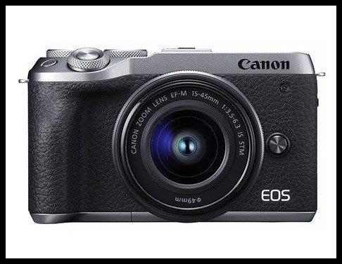 【eWhat億華】Canon EOS M6 Mark II  搭 15-45MM EOS M6M2 EOSM6II 平輸 繁中 銀色 EOSM6 【4】