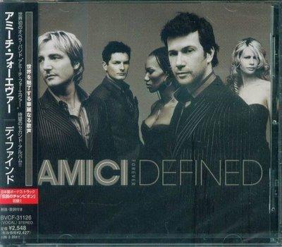 (甲上唱片)Amici Forever - Defined - 日盤 1BONUS  13Tracks