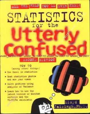 滿5免運【STATISTICS FOR UTTERLY CONFUSED】美國統計學英文原文書JAISINGH著免競標