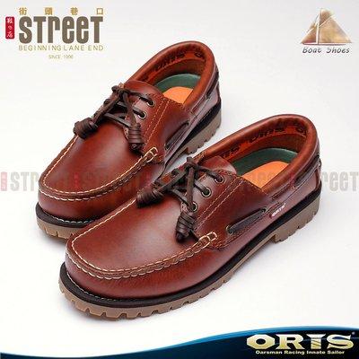 ~街頭巷口 Street~ ORIS 男款雷根式帆船鞋~ 淺咖啡色 934A05~734A05