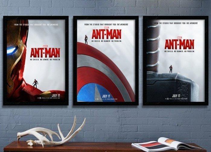 ART。DECO  ANT MAN 蟻人掛畫漫威復仇者聯盟鋼鐵人電影掛畫