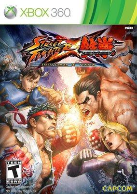 全新未拆 XBOX 360 快打旋風X鐵拳附漫畫書特別版 Street Fighter X Tekken -英日文美版-