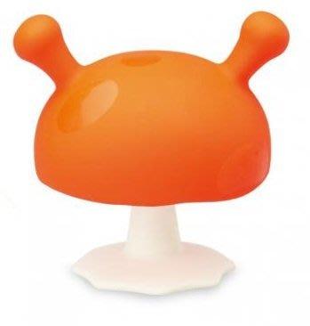 【魔法世界】mombella 媽貝樂 固齒器 Q比小魔菇 橘色