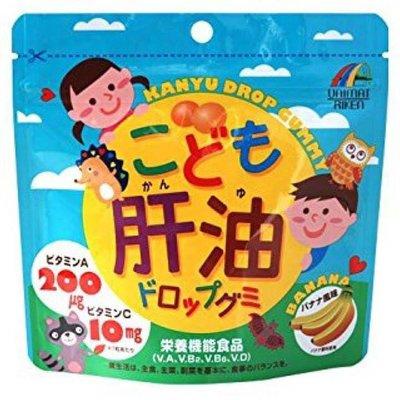 日本UNIMAT RIKEN兒童魚肝油