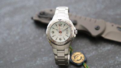 庫存出清專櫃品牌royal marshal全不鏽鋼製藍寶石水晶sapphire錶鏡防水運動石英錶白面標