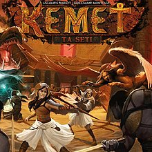 滿千免運 正版桌遊 Kemet: Ta-Seti 聖域: 塔賽提王國 擴充 古埃及努比亞文明
