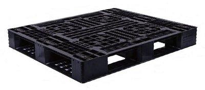 塑膠棧板120*100*14.5cm-田字型塑膠棧板/網面4向插/倉儲用/出口用/可回收/全新品【富晴塑膠】
