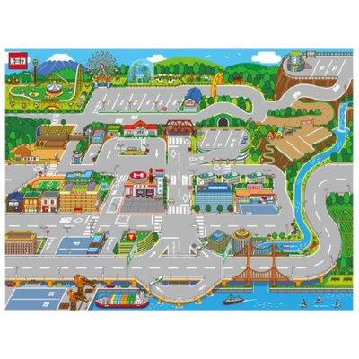 現貨 日本 多美 TOMICA 汽車街道街景遊戲墊 地圖
