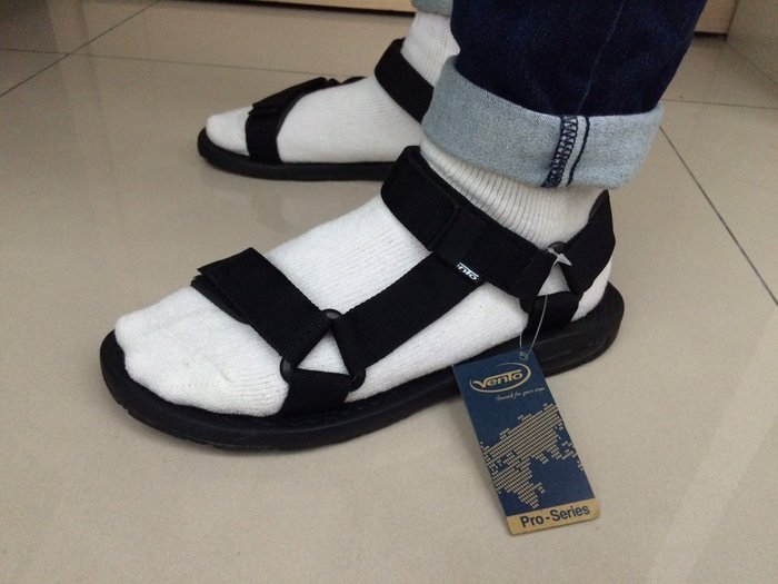 【Simple Shop】現貨 Vento黑色基本款 涼鞋  日本街頭超人氣涼鞋