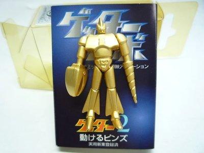 日本製田南徽章 pin Getter 2 三一 萬能俠 機械人 Robot 小超合金屬襟章 Pins 心口針 made in japan