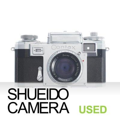 集英堂写真機【3個月保固】良上 ZEISS IKON CONTAX IIIa 旁軸相機+50mm F2 鏡頭 13977