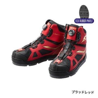 SHIMANO FS-176S GORE-TEX FIRE BLOOD 短筒 防滑 釘鞋 紅色
