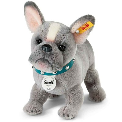 【STEIFF德國金耳釦泰迪熊】Bulldog Pug 收藏版牛頭犬 鬥牛犬 獅子犬