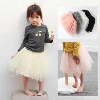 【可愛村】 甜美女孩多層蓬蓬紗裙 女童裝 裙子
