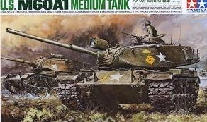 TAMIYA 田宮模型 25166 美國陸軍 M60A1 戰車 1/35
