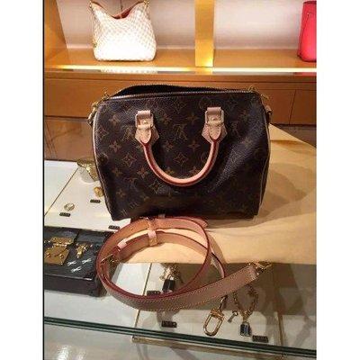 代購Louis Vuitton LV SPEEDY BANDOULIÈRE 25 手提包 M41113枕頭包
