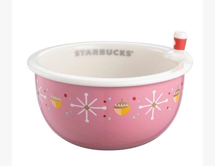 天使熊雜貨小舖~Starbucks 星巴克耶誕盛宴點心碗  全新現貨