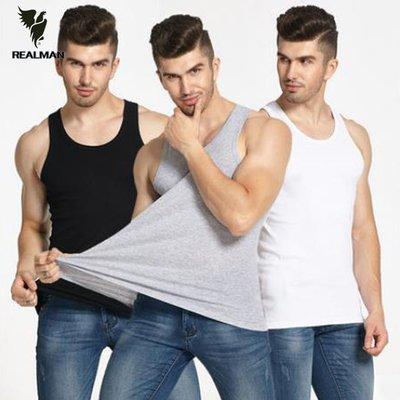 Realman男裝店 ~ 男士韓版修身棉質健身透氣運動背心吊帶 ~背心t恤短袖長袖襯衫馬甲外套上衣