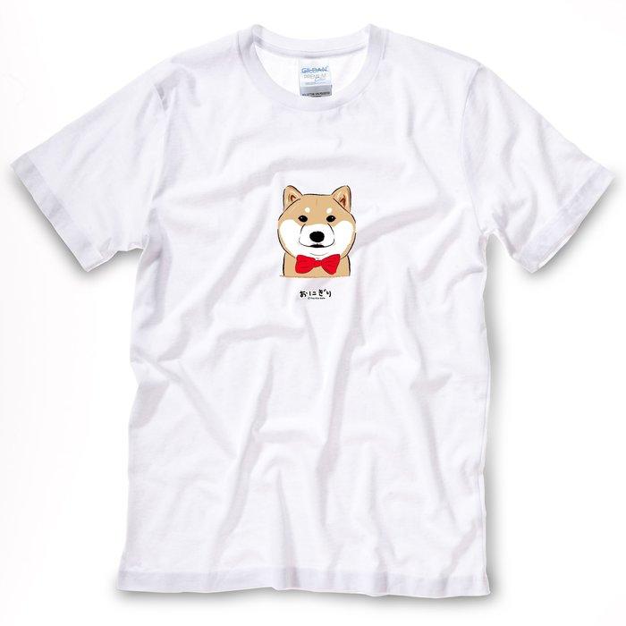 小飯糰 中性T恤 柴柴T 尖頭曼