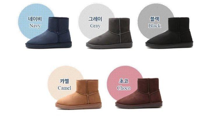 『※妳好,可愛※』韓國童鞋~韓國製~韓國 Ollie內增高短筒雪靴 百搭款雪靴 靴子雪地靴 短筒靴 短靴