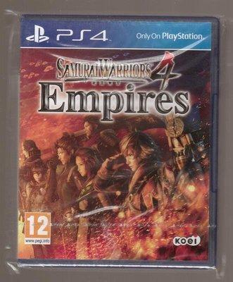 全新PS4 原版片 英文版 戰國無雙4 帝王傳