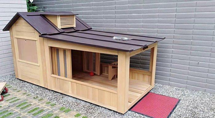 超大型狗屋,老麥狗屋設計製作