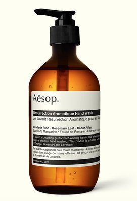 『現貨』Aesop Reverence Aromatique賦活芳香手部清潔露 500ml 製造日期2019/09