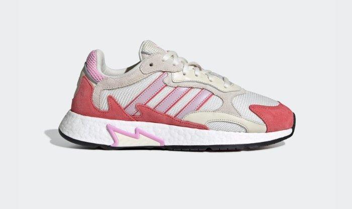 沃皮斯§Adidas TRESC RUN W 桃紅/白 反光 老爹鞋 女鞋 EF1067