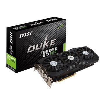 【捷修電腦。士林】微星 GTX 1070 DUKE 8G OC 現貨 $ 15900