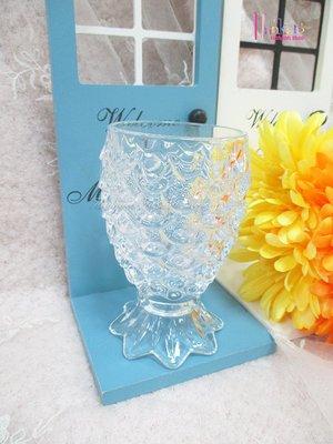 ☆[Hankaro]☆創意流行鳳梨造型玻璃杯(樣品出清)