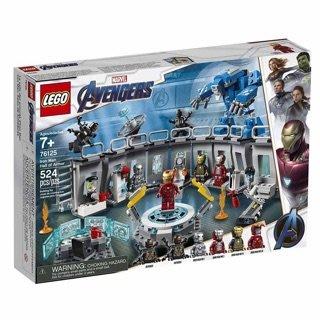 美國百分百 【全新真品】樂高 Lego 新真品】樂高 Lego 復仇者聯盟 鋼鐵人裝甲大廳 76125 AG25
